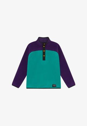 SPARK  - Fleecepullover - purple/turquoise