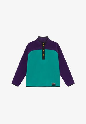 SPARK  - Fleecová mikina - purple/turquoise