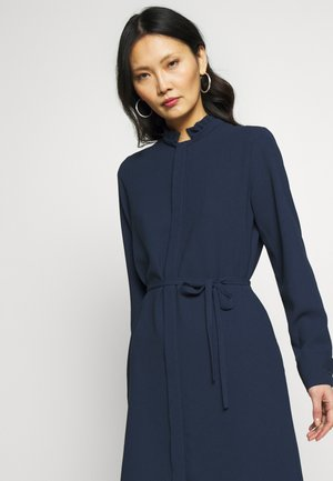 MIDI - Shirt dress - navy blazer