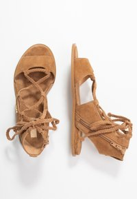 Liu Jo Jeans - THEA  - Sandalias tobilleras - tan - 3