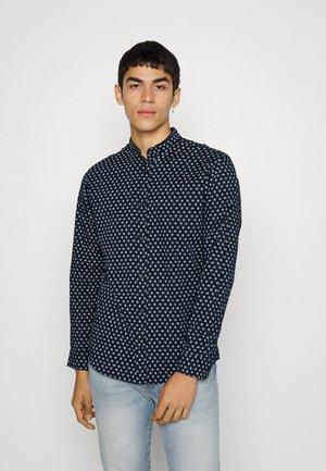 JJPLAIN SKULL - Skjorta - navy blazer