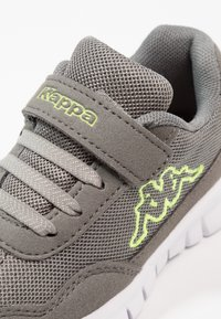 Kappa - UNISEX - Sports shoes - grey/lime - 5