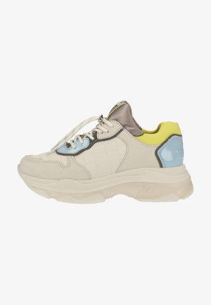 Trainers - o.white/baby blue/lime 3320