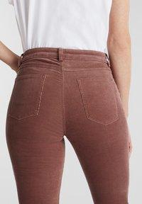 Esprit - Trousers - dark mauve - 4