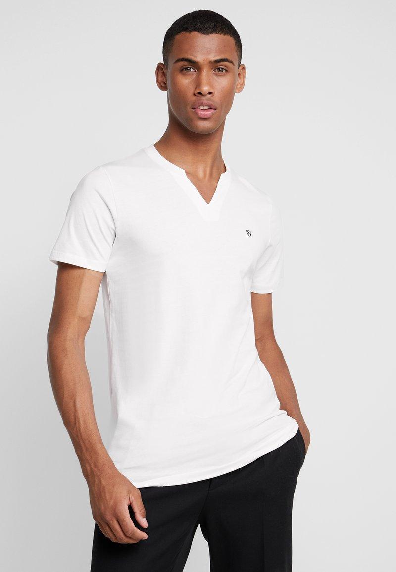 Jack & Jones PREMIUM - JPRMISA TEE CREW NECK - Basic T-shirt - white