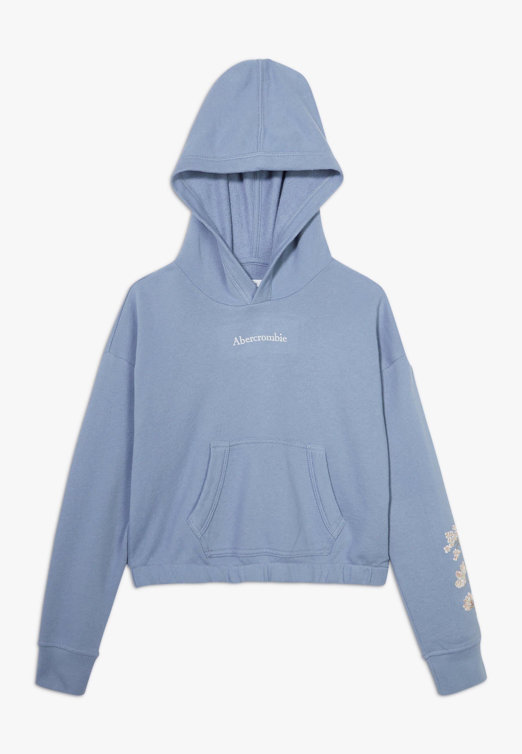Große Förderung Abercrombie & Fitch HOOD - Sweatshirt - blue | Damenbekleidung 2020