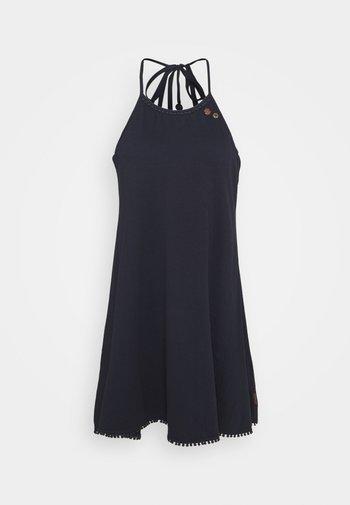 SERAFINA - Jersey dress - navy