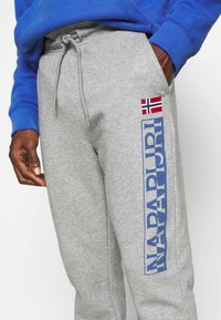 Napapijri - ICE - Tracksuit bottoms - dove grey