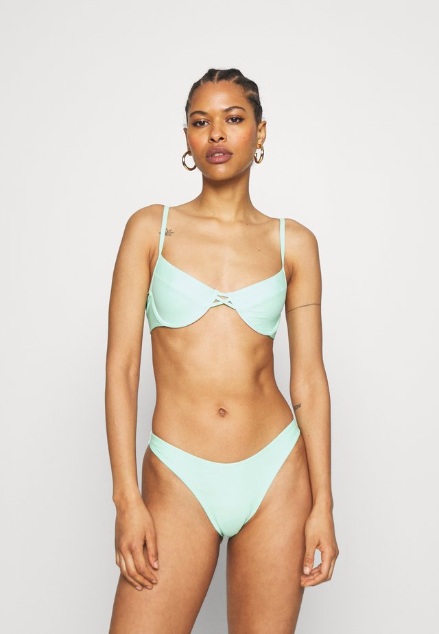 PLAIN UNDERWIRED - Bikini - mint