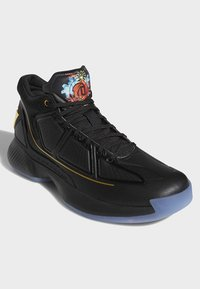 adidas Performance - D ROSE 10 SHOES - Basketball shoes - black - 3