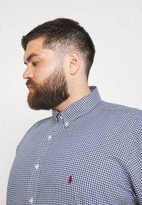Polo Ralph Lauren Big & Tall - LONG SLEEVE SPORT SHIRT - Shirt - navy/white - 3