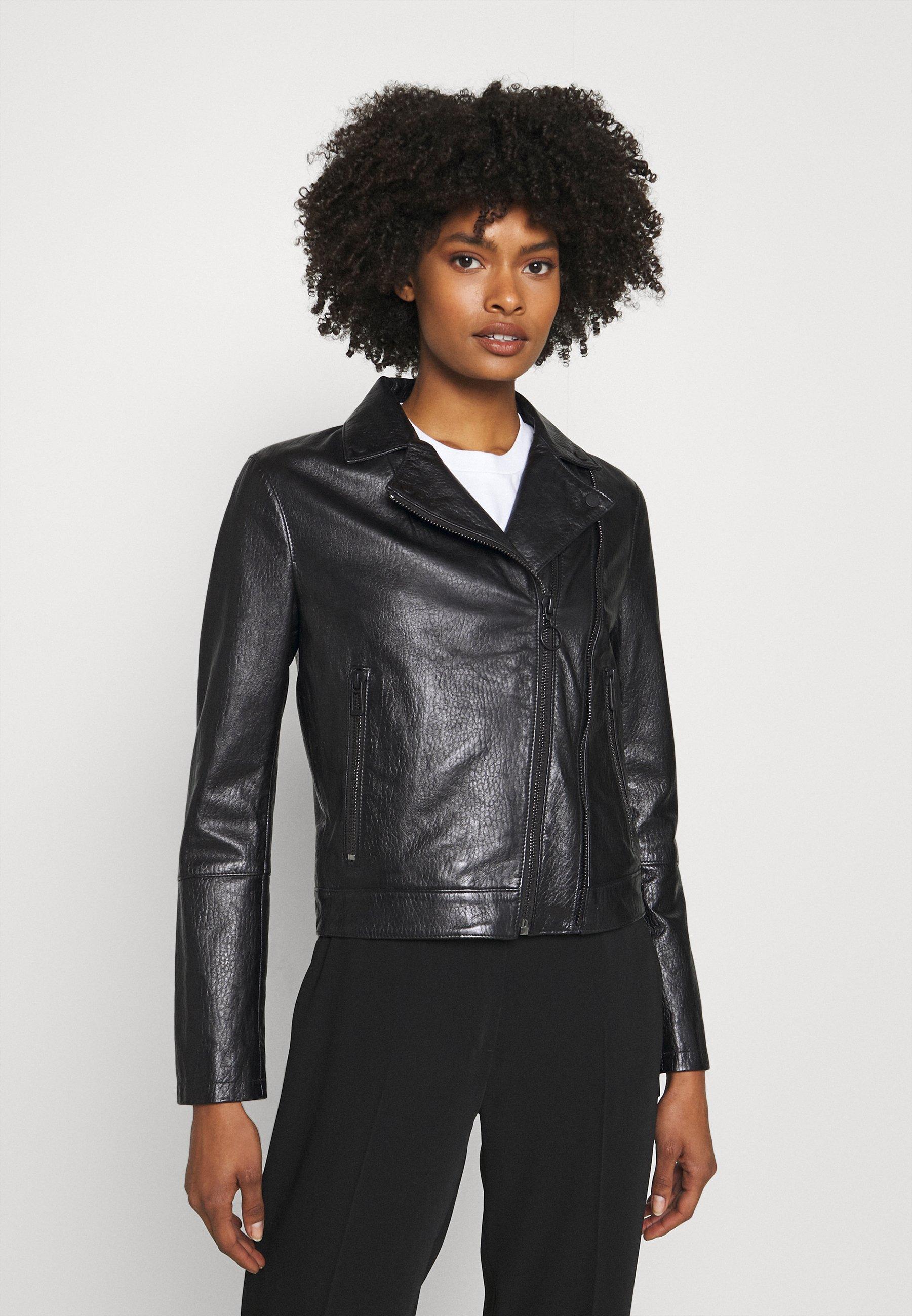 Women LOVERI - Leather jacket