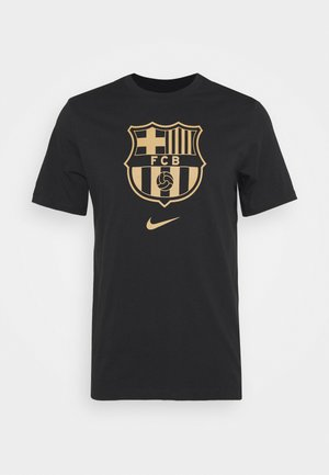 FC BARCELONA - Article de supporter - black/truly gold