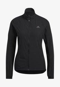 adidas Performance - RISE UP N RUN JACKET - Sports jacket - black - 3