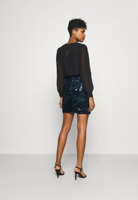 Molly Bracken - LADIES SKIRT - Minijupe - navy blue - 2