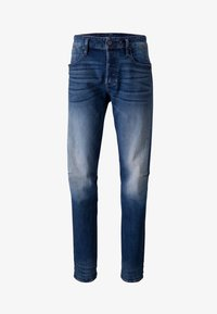 elto pure stretch denim- antic faded baum blue