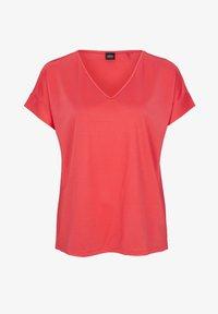 s.Oliver BLACK LABEL - Print T-shirt - popsicle pink - 5