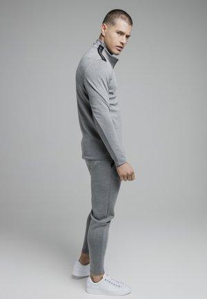 Mikina na zip - grey marl