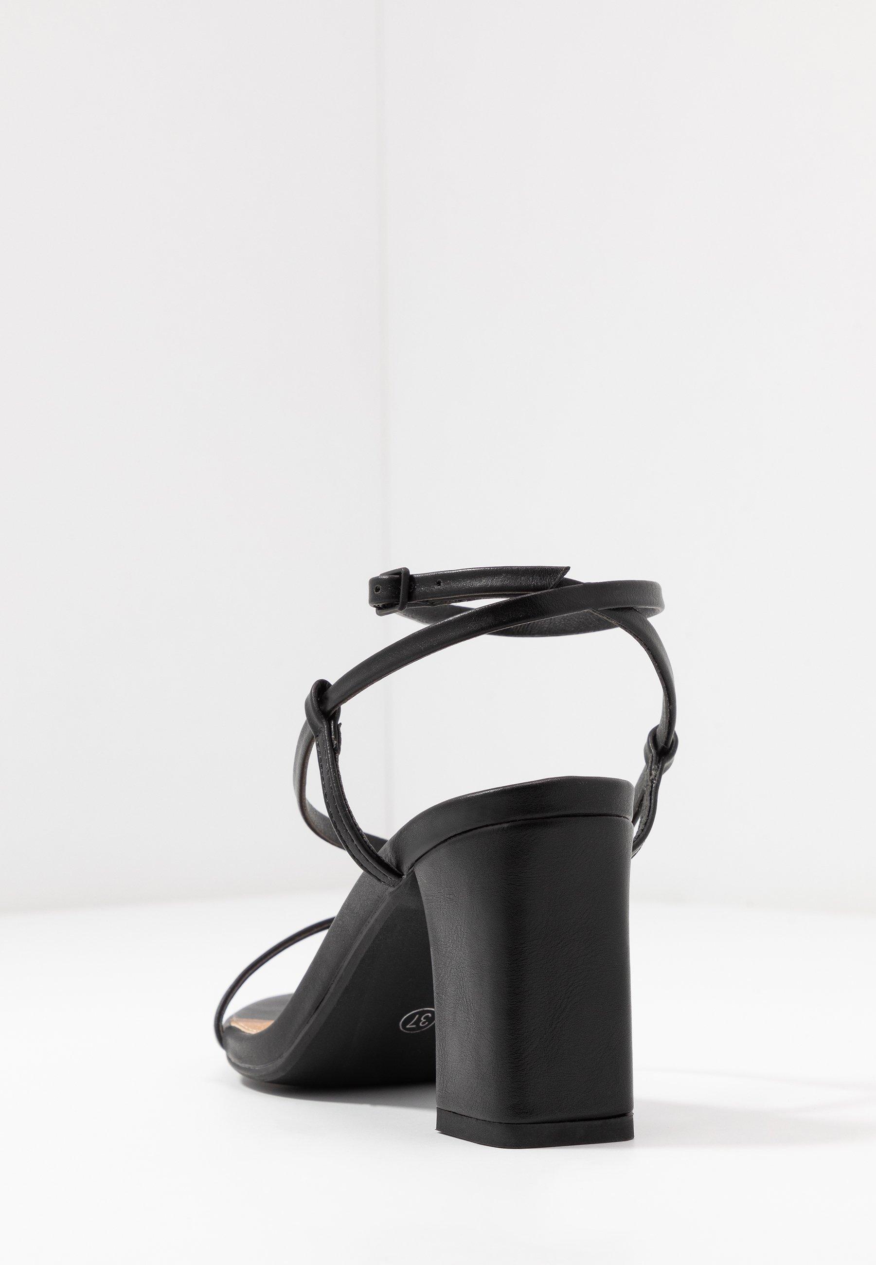 HARPER STRAPPY HEEL Sandaler black