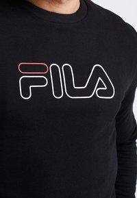 Fila - LIAM CREW - Sweatshirts - black - 4