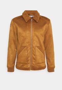 COOPER SUEDE JACKET - Winter jacket - sand
