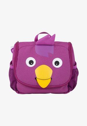 KULTURBEUTEL VOGEL - Handbag - purple