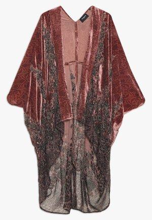 KIMONO - Lehká bunda - pink