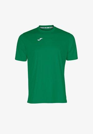FUSSBALL - TEAMSPORT TEXTIL  COMBI  KURZARM - Camiseta básica - gruen