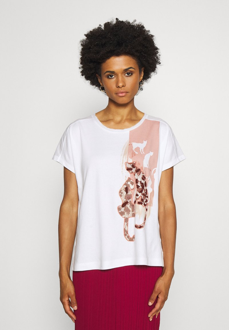 Marc Cain - Print T-shirt - multi-coloured