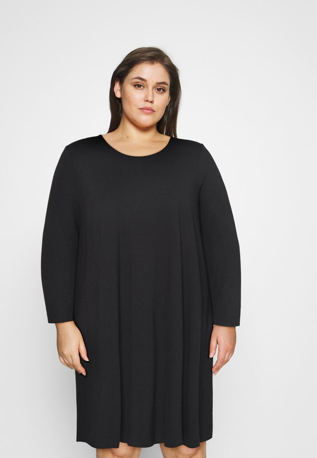 SMOCK DRESS - Robe d'été - black