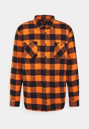 LABOUR SHIRT UNISEX - Button-down blouse - orange