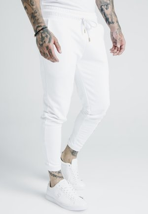 X DANI ALVES CUFFED JOGGERS - Pantalon de survêtement - white