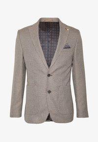 Burton Menswear London - CHESTNUT MINI CHECK - Kavaj - brown - 4