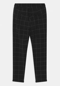 Lindex - TEEN PARTY BLACK CHECK - Teplákové kalhoty - black - 1