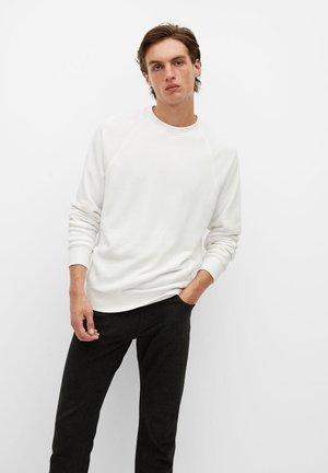 WAFFLE - Sweatshirt - blanc