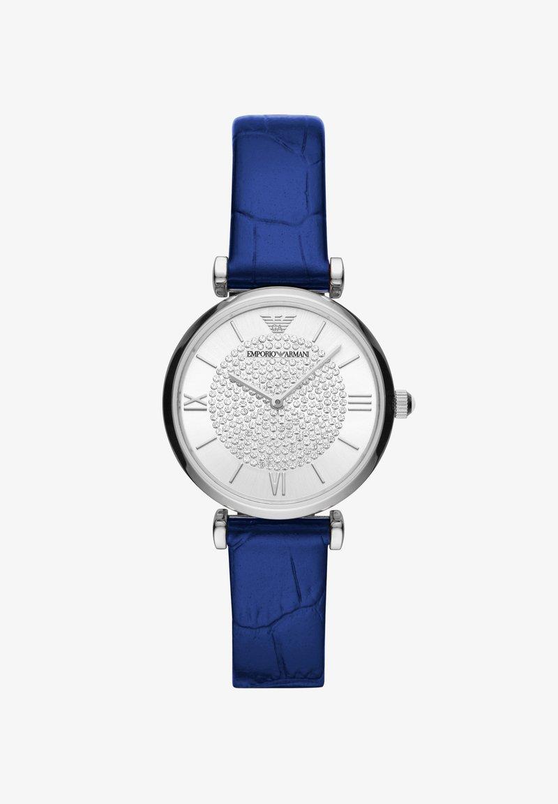 Emporio Armani - GIANNI  - Zegarek - blue