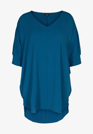3/4 SLEEVE - Tunic - blue