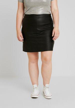 CARDIEGO  SKIRT ESS - Mini skirt - black