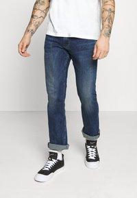 Pepe Jeans - ALFIE - Flared Jeans - dark-blue denim - 0