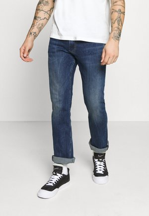 ALFIE - Straight leg jeans - dark-blue denim