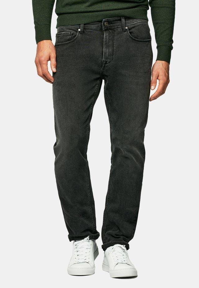 Straight leg jeans - denim dark grey wash