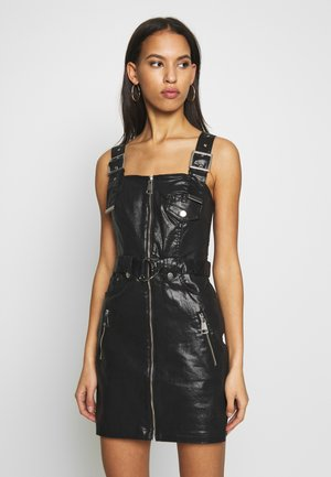 YANA BIKER - Day dress - black