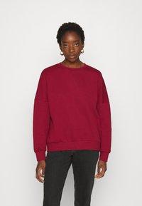 Even&Odd - OVERSIZED CREW NECK SWEATSHIRT - Sweatshirt - red - 0