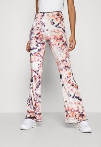 Jaded London - BOOTCUT JERSEY TROUSER WITH BABYLOCK  - Trousers - multi - 0
