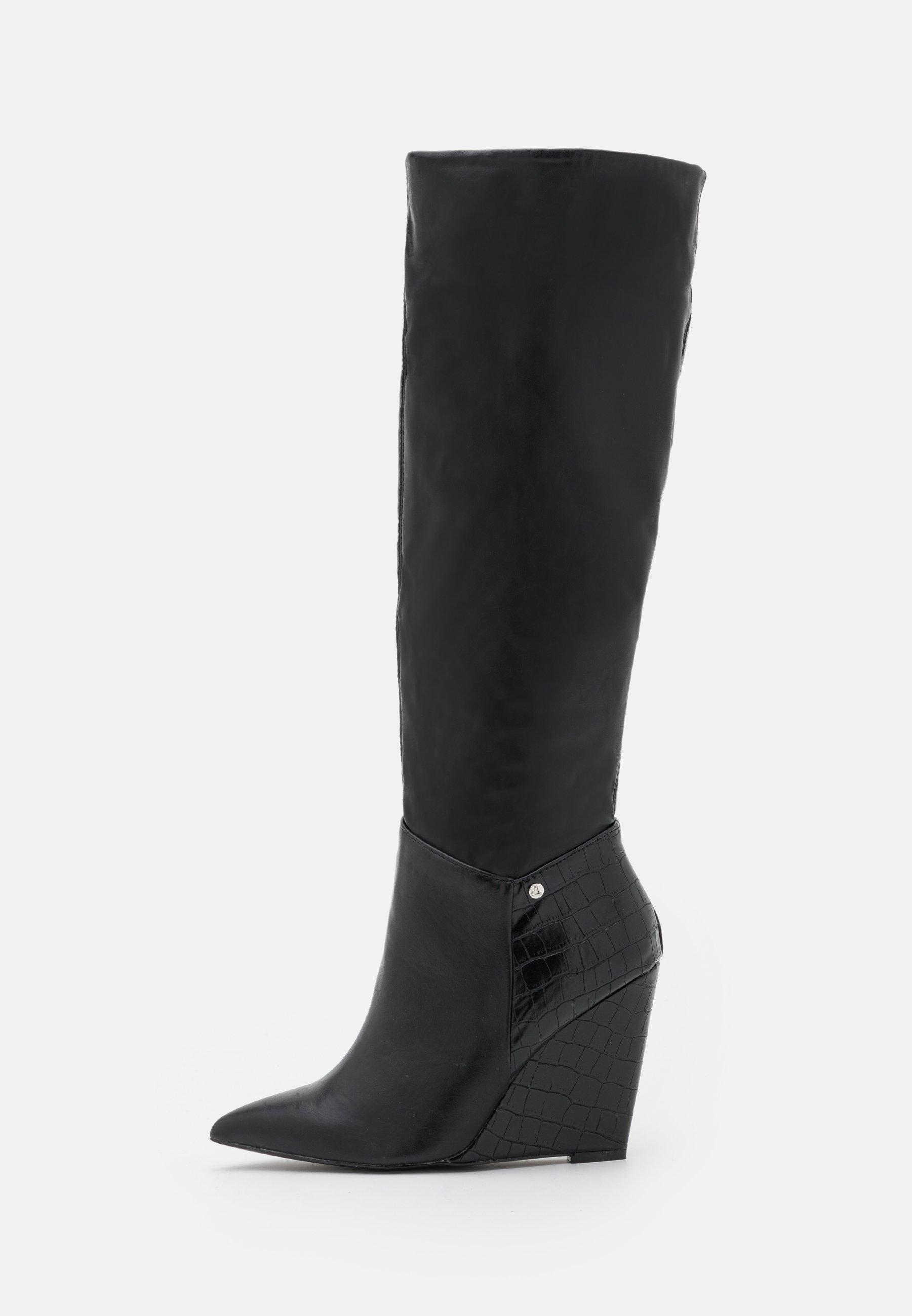 Women JINGLE - Wedge boots - black