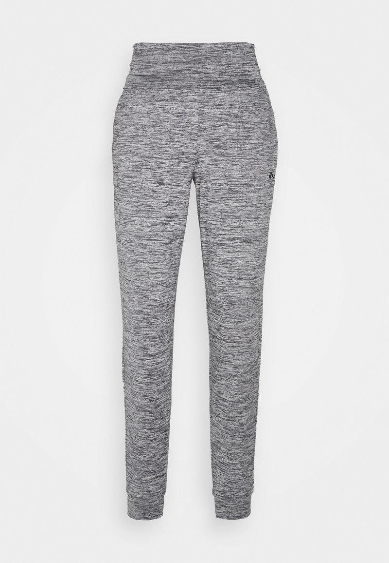 ONLY Play - ONPMETEA FOLD  - Pantalones deportivos - medium grey melange