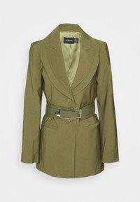 Mossman - ADDICTED TO YOU BLAZER - Short coat - khaki - 0