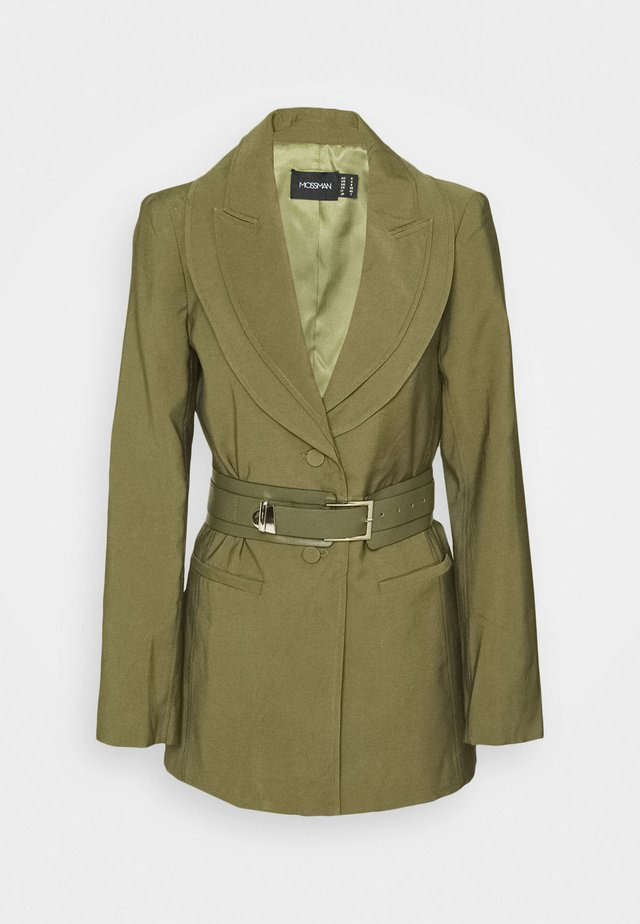 ADDICTED TO YOU BLAZER - Halflange jas - khaki