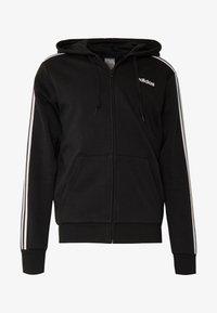 adidas Performance - veste en sweat zippée - black/white - 5