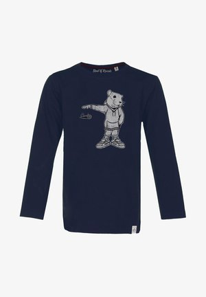 MIC DROP - Long sleeved top - navy